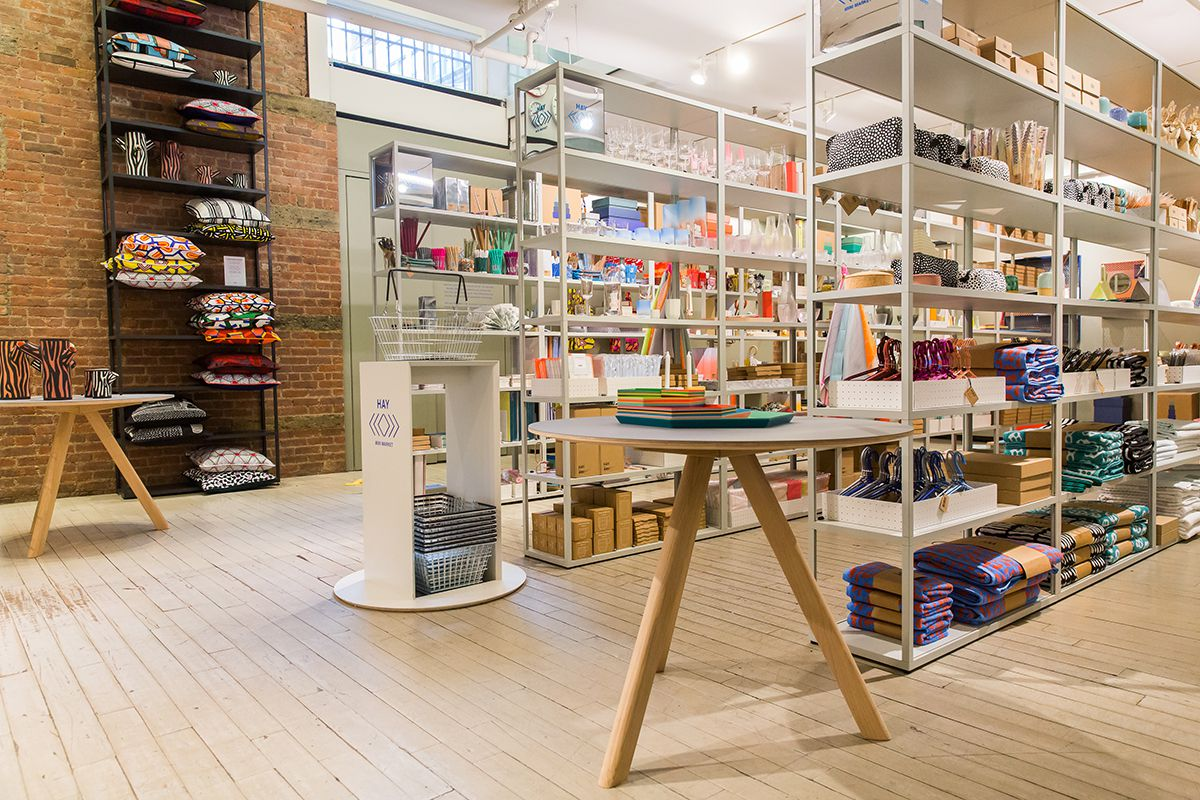 Hay mini market brings irresistible danish design to the masses