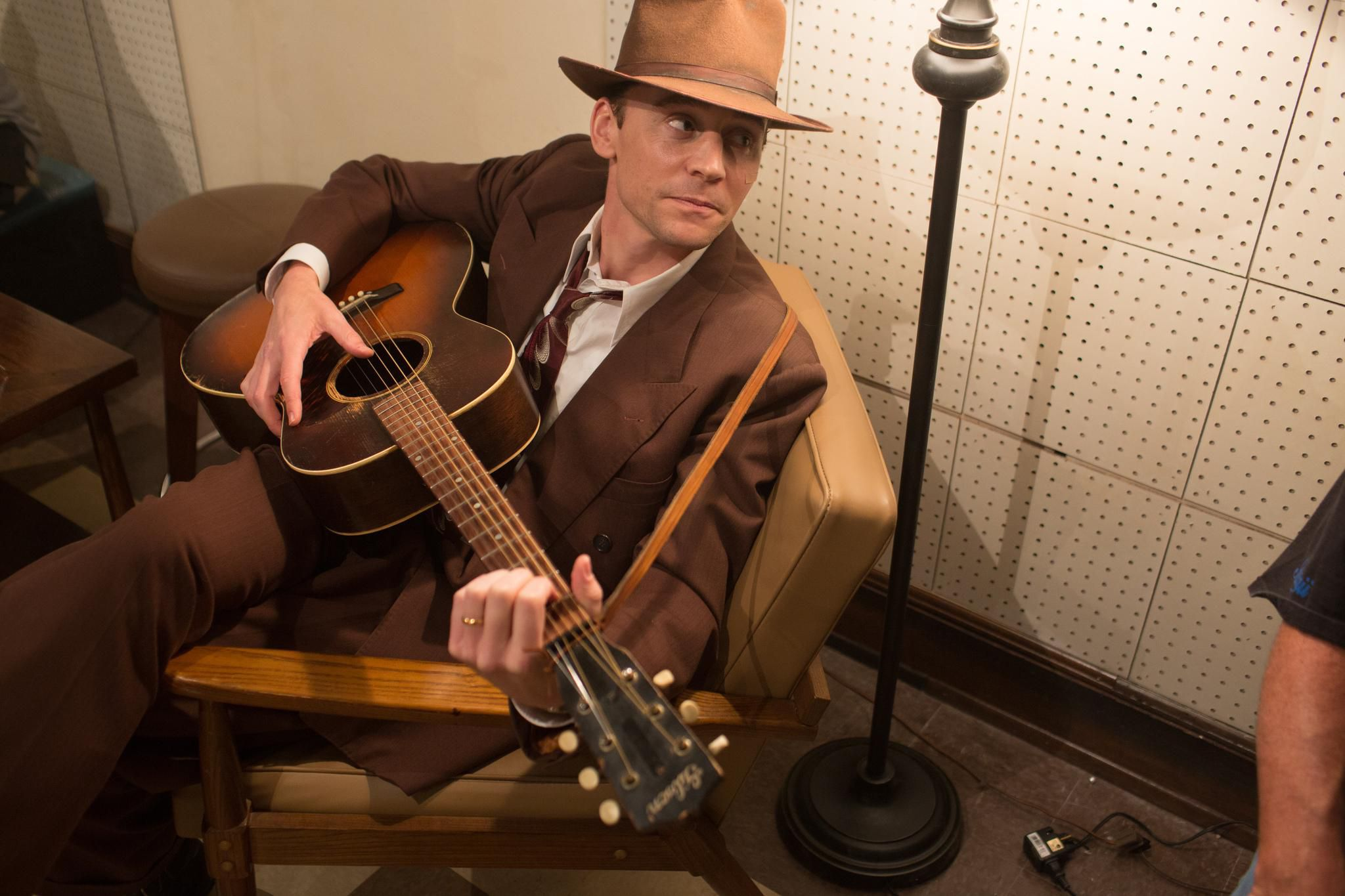 Tom Hiddleston: playing Hank Williams was like riding a very