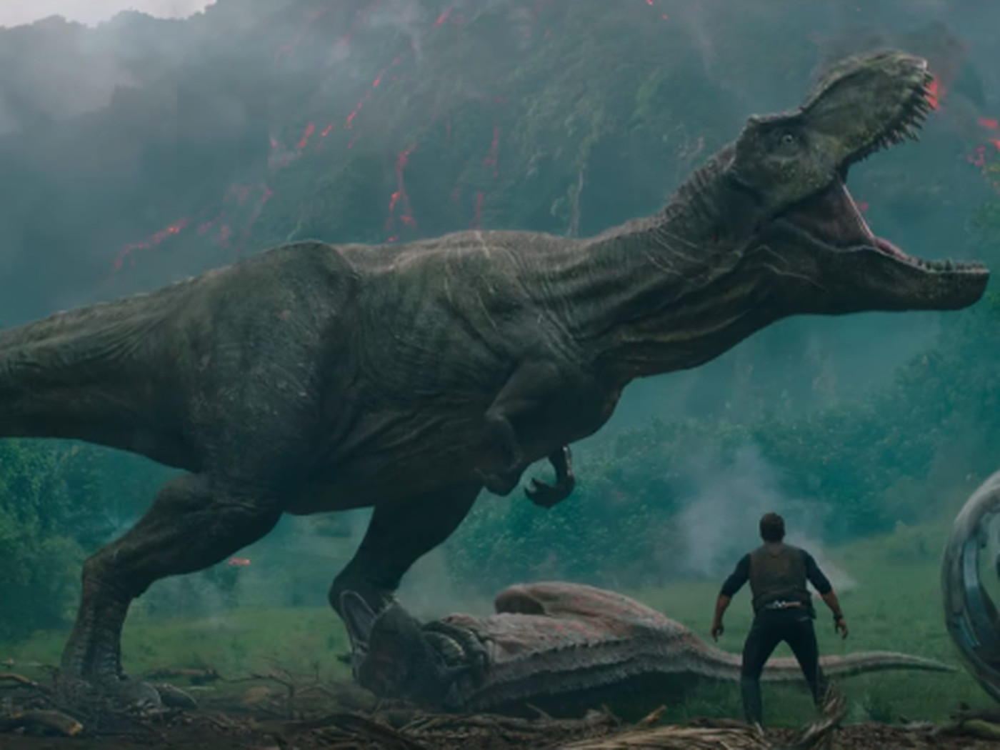 Jurassic World Fallen Kingdom Trailer T Rex Polygon