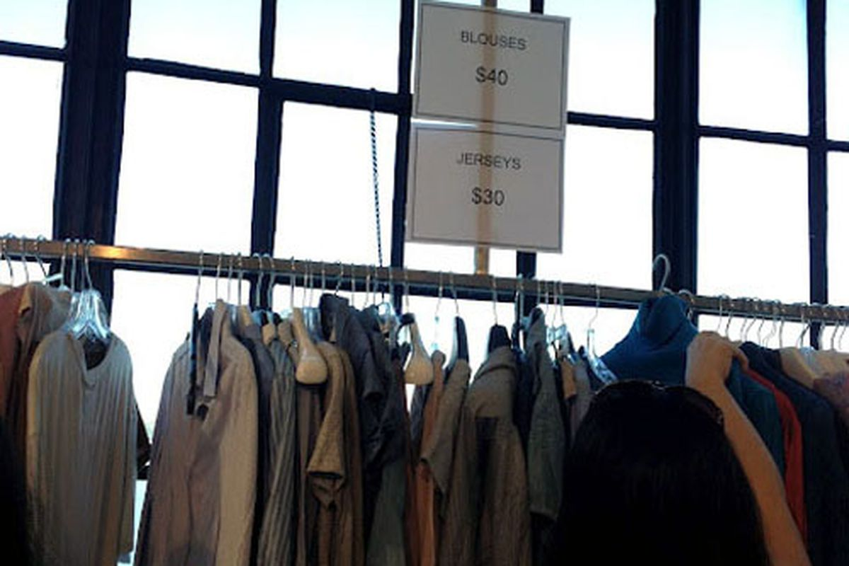 """Image via <a href=""""http://www.nykeiko.com/2012/10/in-pictures-hugo-boss-sample-sale-2012.html"""">NY Keiko</a>"""