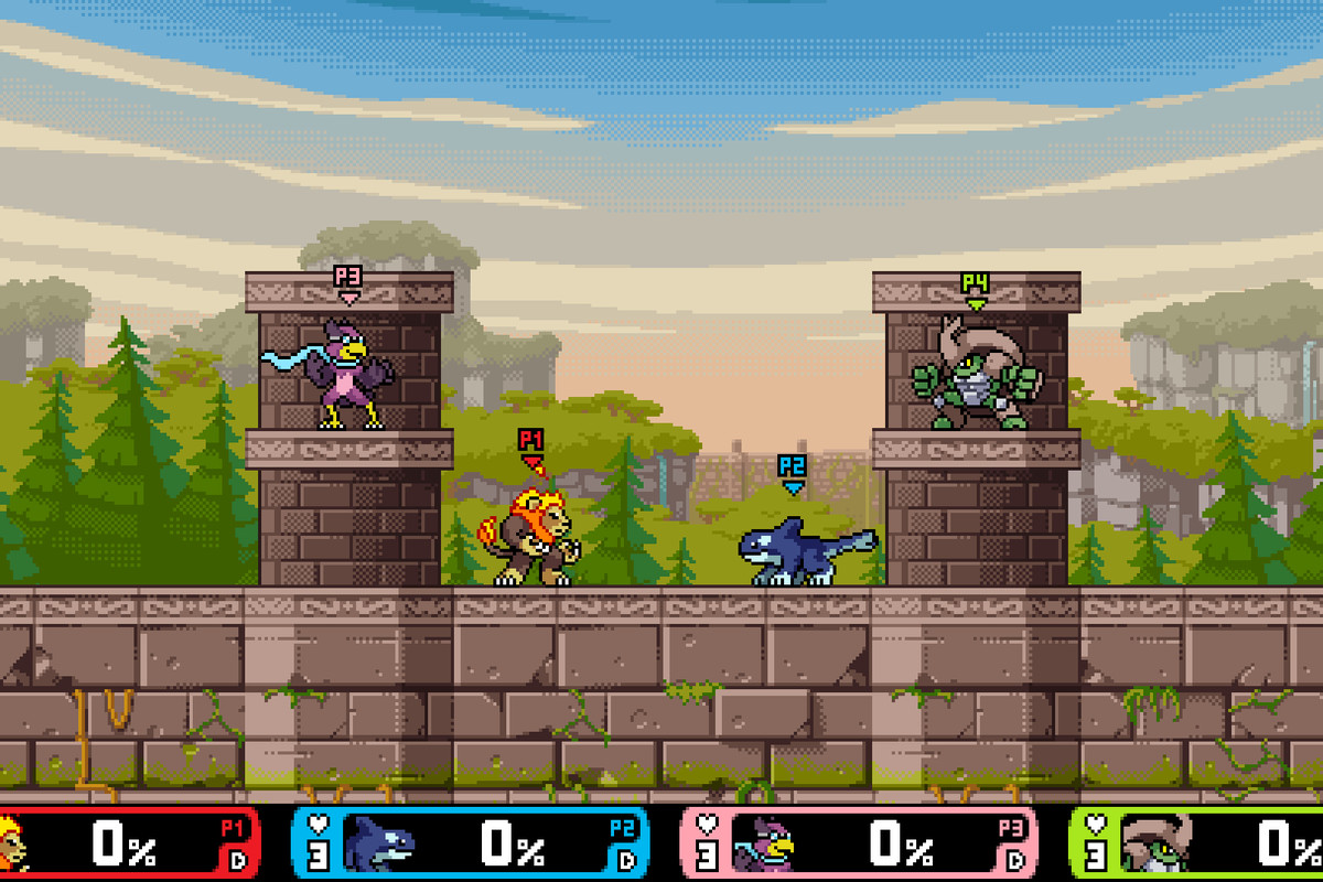 Rivals of Aether is like a beautiful, indie version of Super