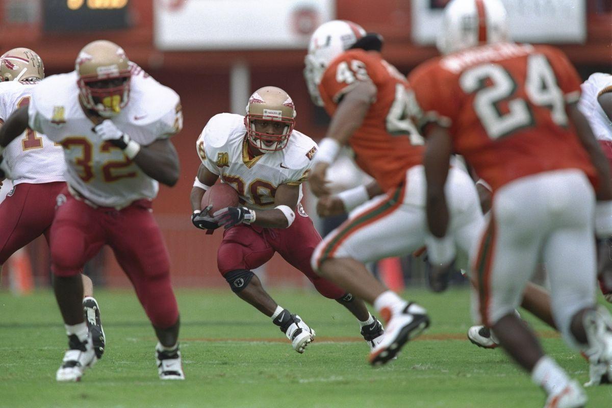Warrick Dunn Florida St