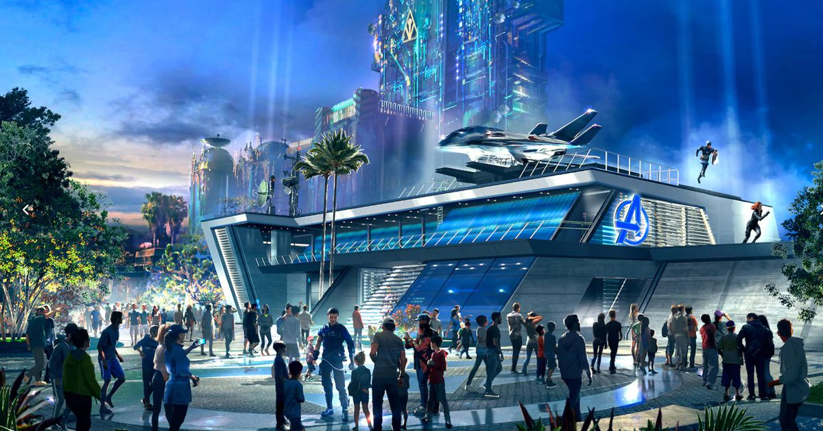 Avengers Campus is finally opening at Disneyland on June 4th, complete with aerial Spider-Man robot
