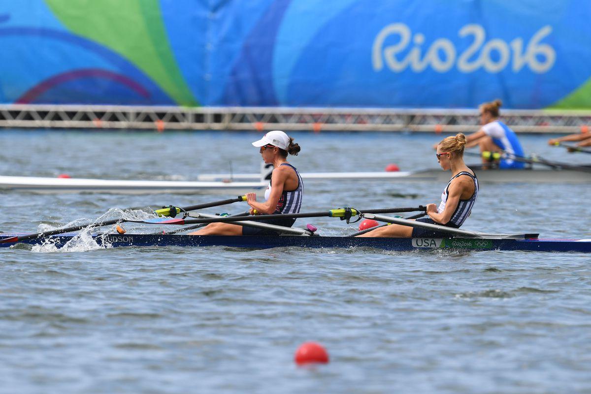 Olympics: Rowing