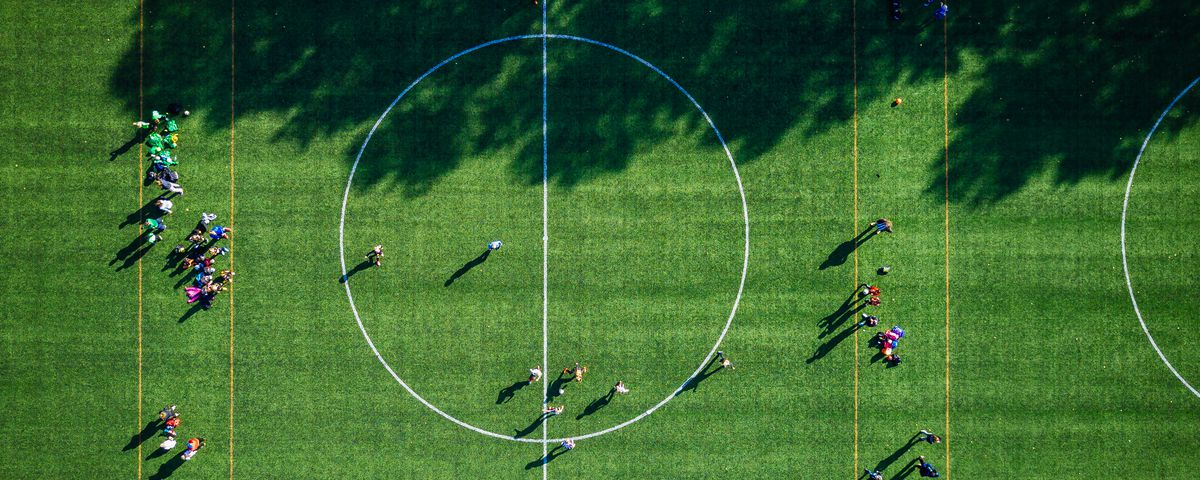 Photo of a sports field.