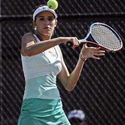 After two straight second-place finishes, Rowland Hall's Kaitlin Ramsey finally captured the No 2 singles title.