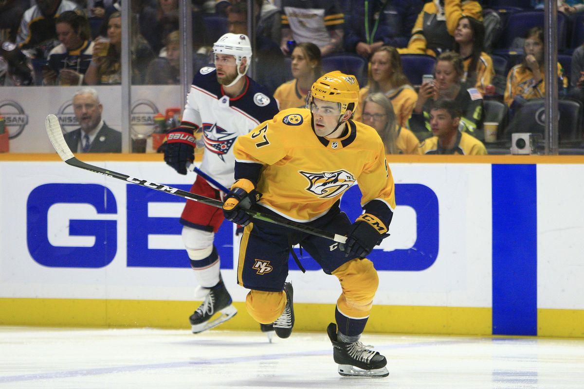 NHL: MAR 30 Blue Jackets at Predators