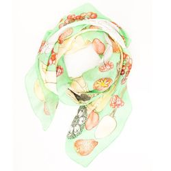 """<b>Swash</b> Double Silk Chiffon Scarf in Let Them Eat Jelly Cakes print, <a href=""""http://shop.dagnyandbarstow.com/collections/accessories/products/double-silk-chiffon-scarf"""">$425</a> at Dagny + Barstow"""