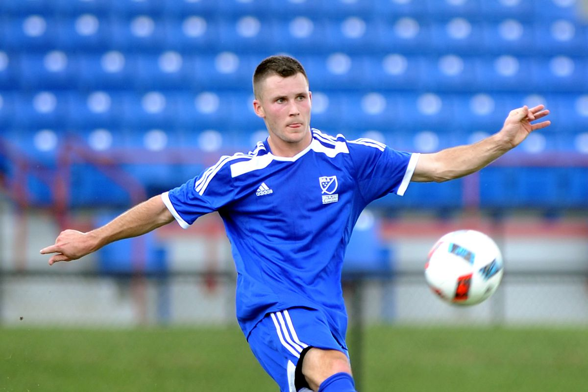 Keegan Rosenberry, a Gerogetown product, could help solidify a thin Revolution back line.