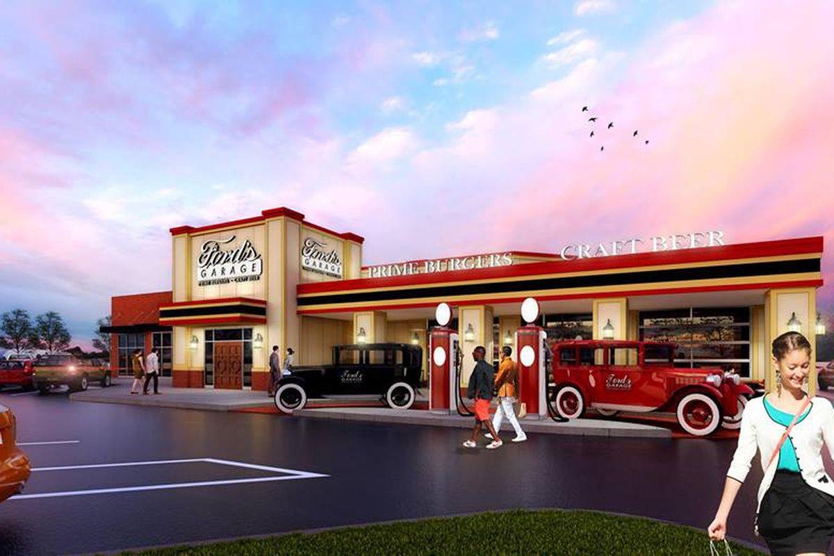 ford's garage rendering