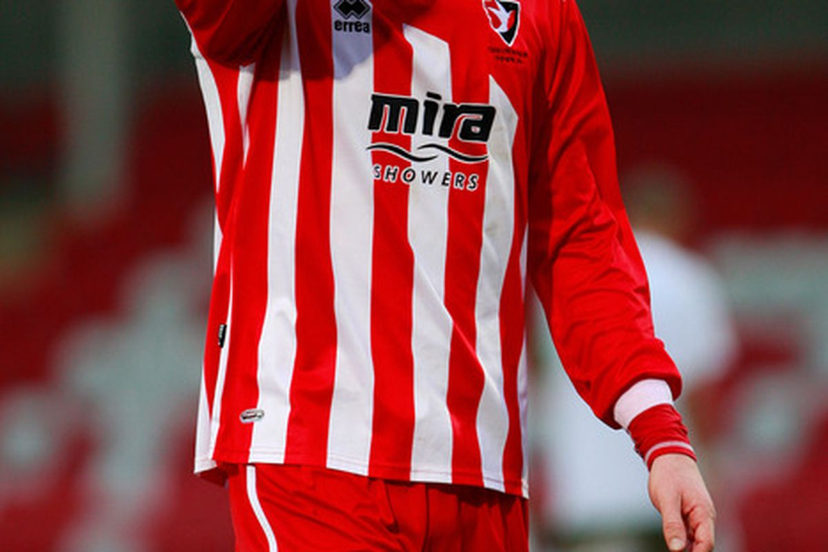 Hopefully, Cheltenham Town's players will have looks on their faces like this in January.