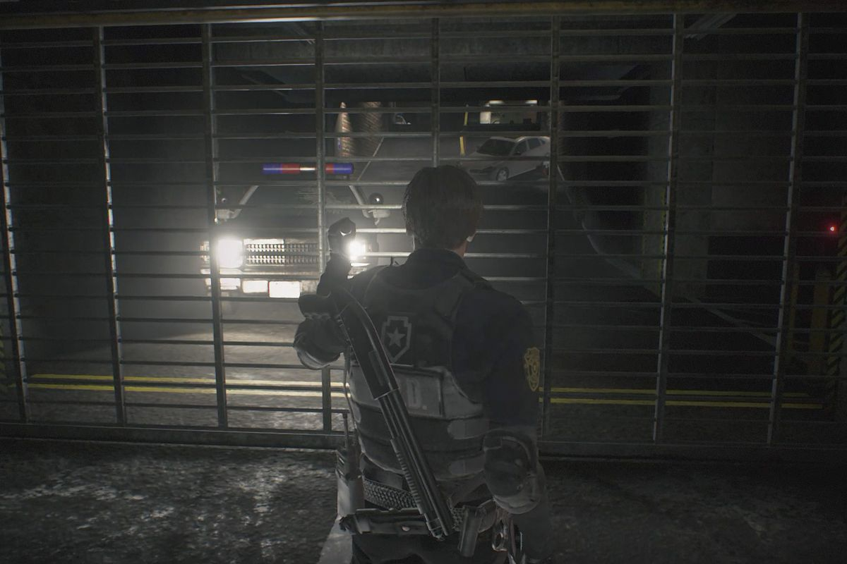 Resident Evil 2 Parking Garage Walkthrough 1 Polygon