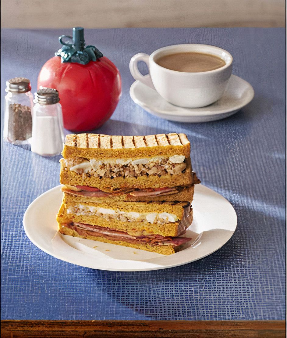 The Full English sandwich by Heston Blumenthal for Waitrose supermarket.