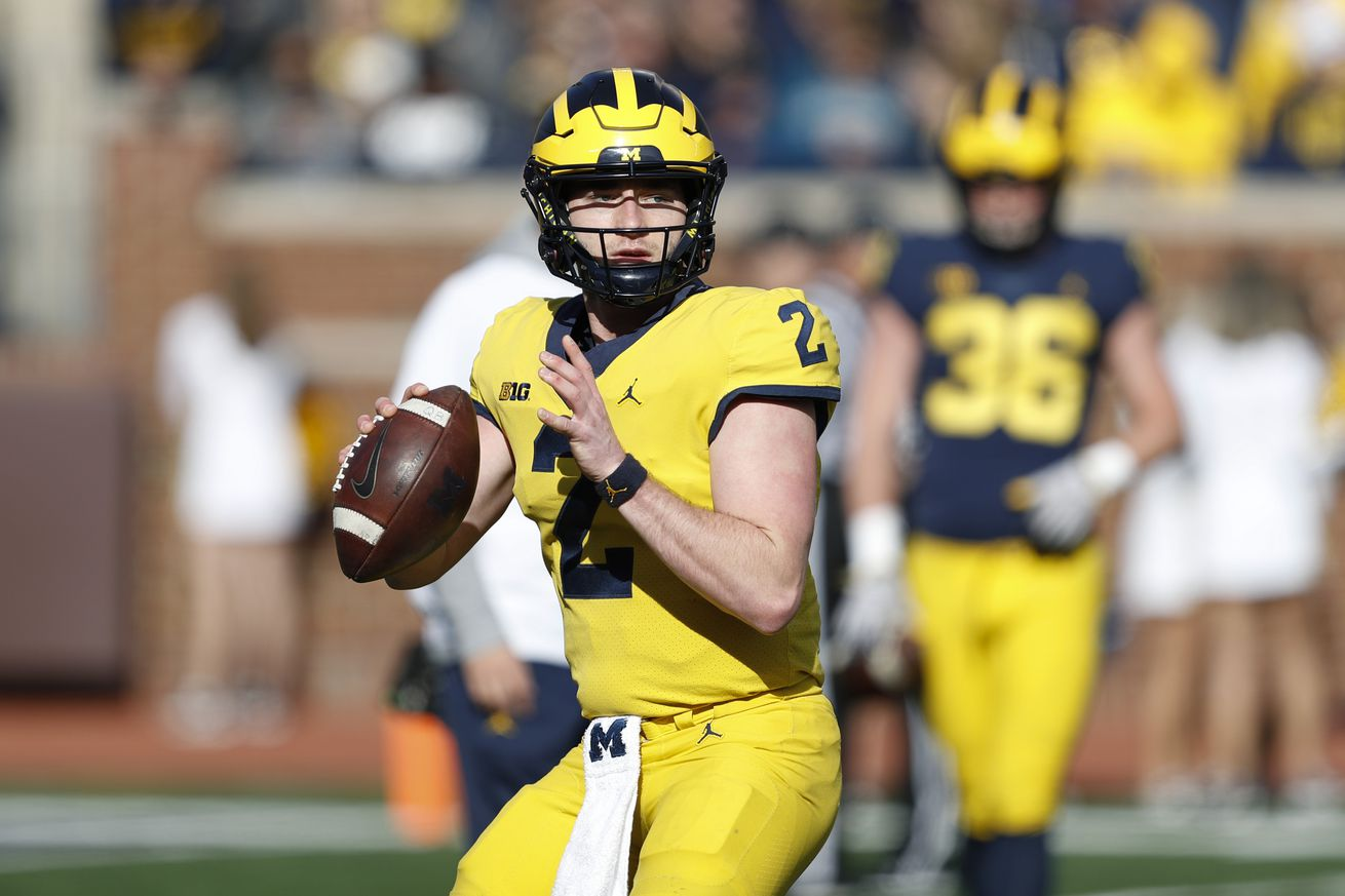 Projecting the Michigan starting QB over the next 3 seasons