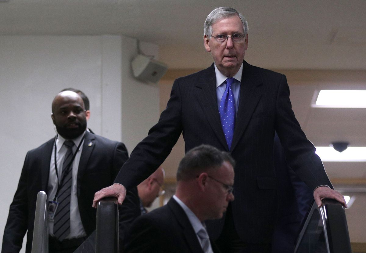 Mitch McConnell's nightmares keep coming back again and again