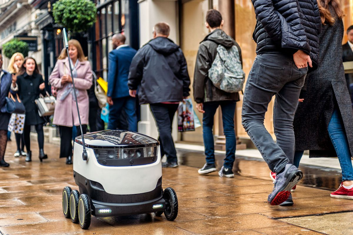 Robots will start delivering food to doorsteps in Silicon Valley and Washington, D.C., today