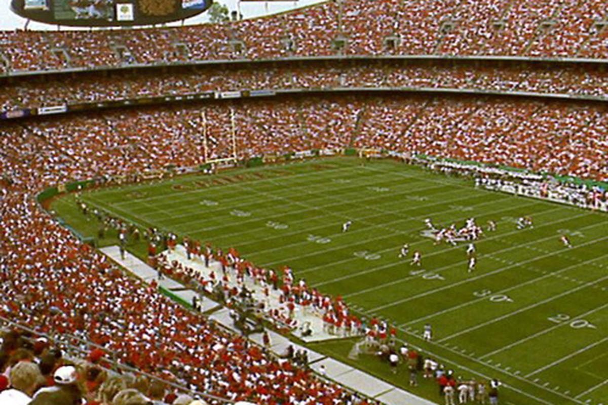 Kansas City Chiefs' Arrowhead Stadium