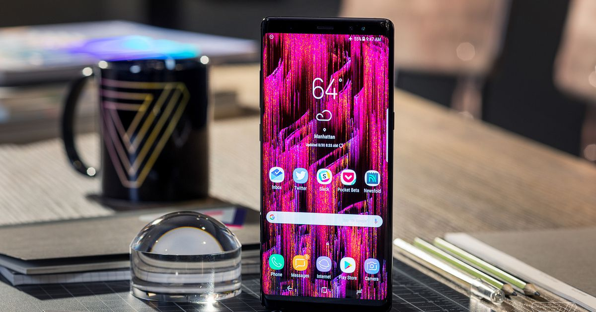 Samsung's Galaxy Note 9 is Starting to Leak Out
