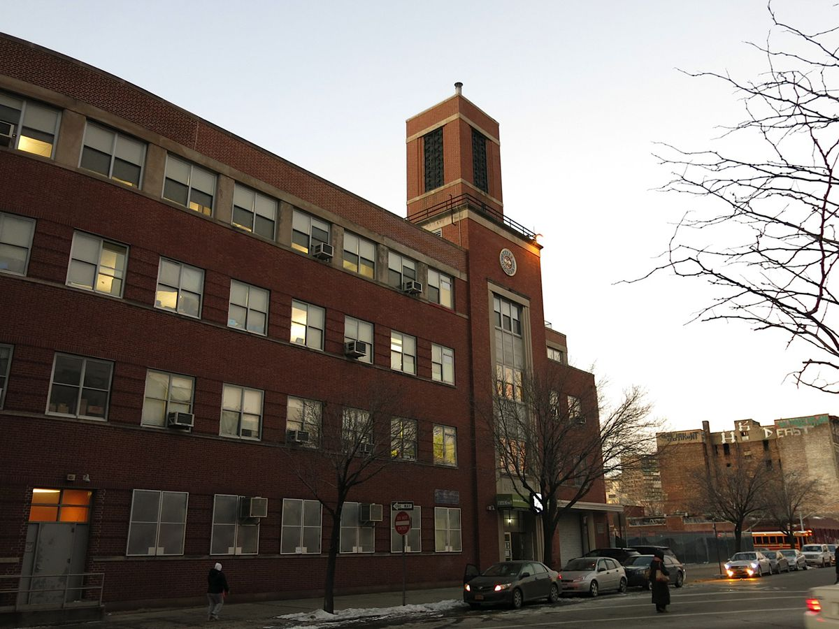 The elementary school's building at 11 Bartlett St. in Williamsburg, where it operates free of charge.