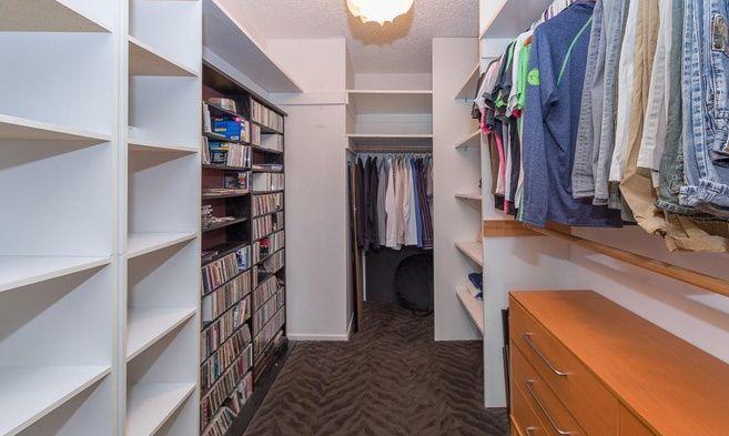 Huge walk-in closet