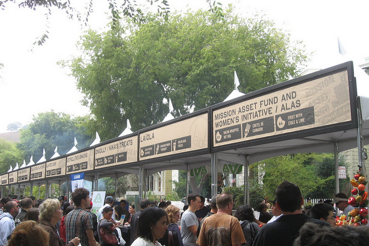 The first-ever SFSFF, back in 2009.