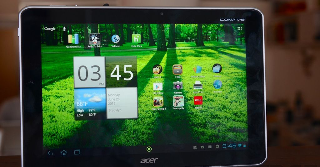 Acer Iconia Tab A700 review - The Verge
