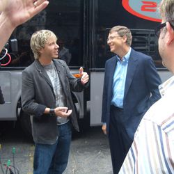 Cliff with Bill Gates