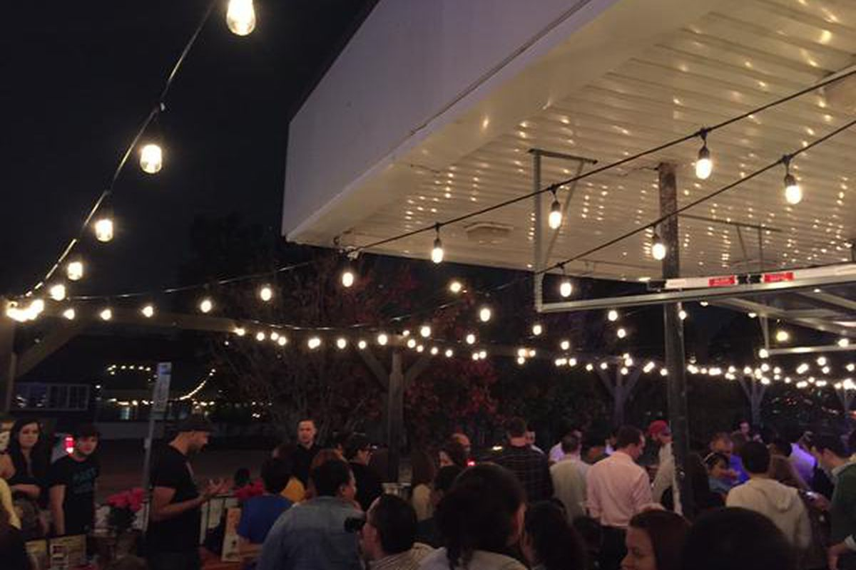 Last night's crowd at Houston Press' annual Tequila & Tamales event.