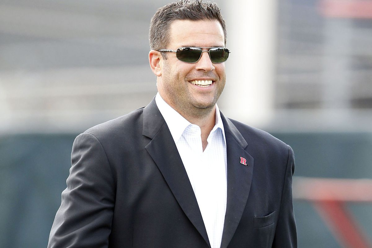 Rutgers' future is so bright, Tim Pernetti has to wear shades.