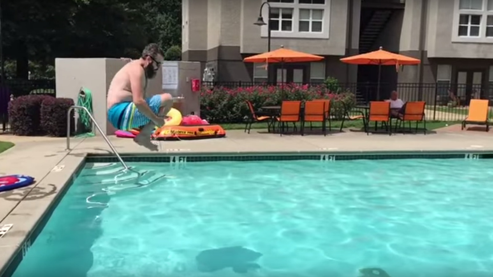Trey Kerby 39 S Pool Jumping Documentary 39 The Art Of C Balls 39 Is A Cinematic Masterpiece And Should