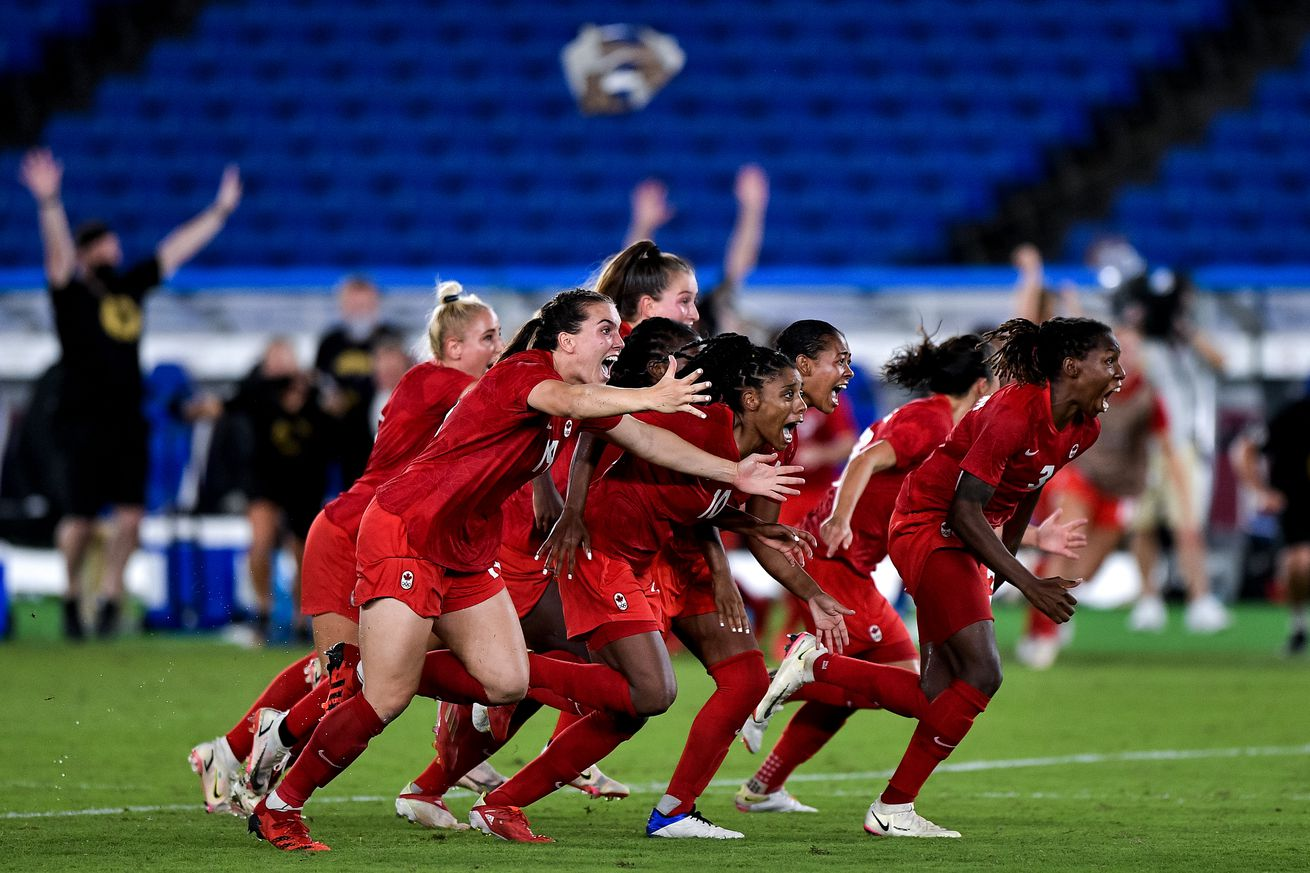 20210806 Sweden v Canada - Tokyo 2020 Olympic Women's Football Tournament Gold Medal