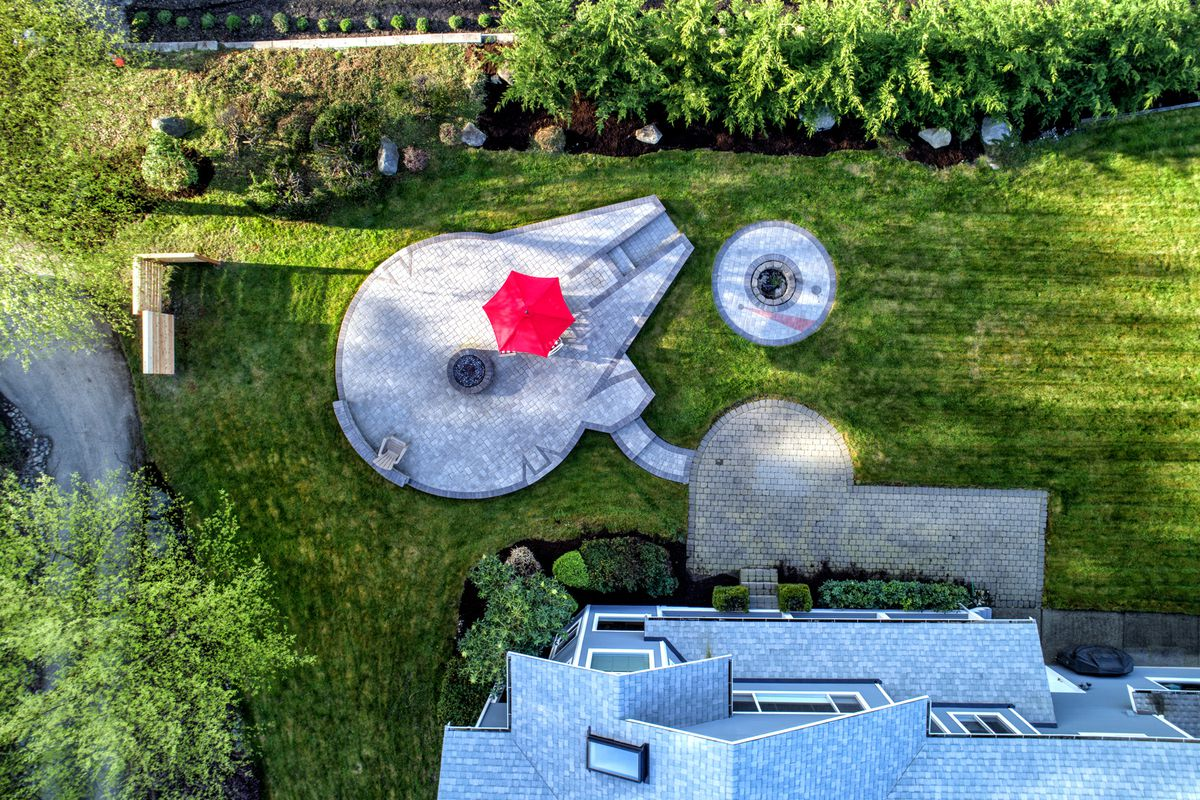 Federal Way Home For Sale Features Millennium Falcon