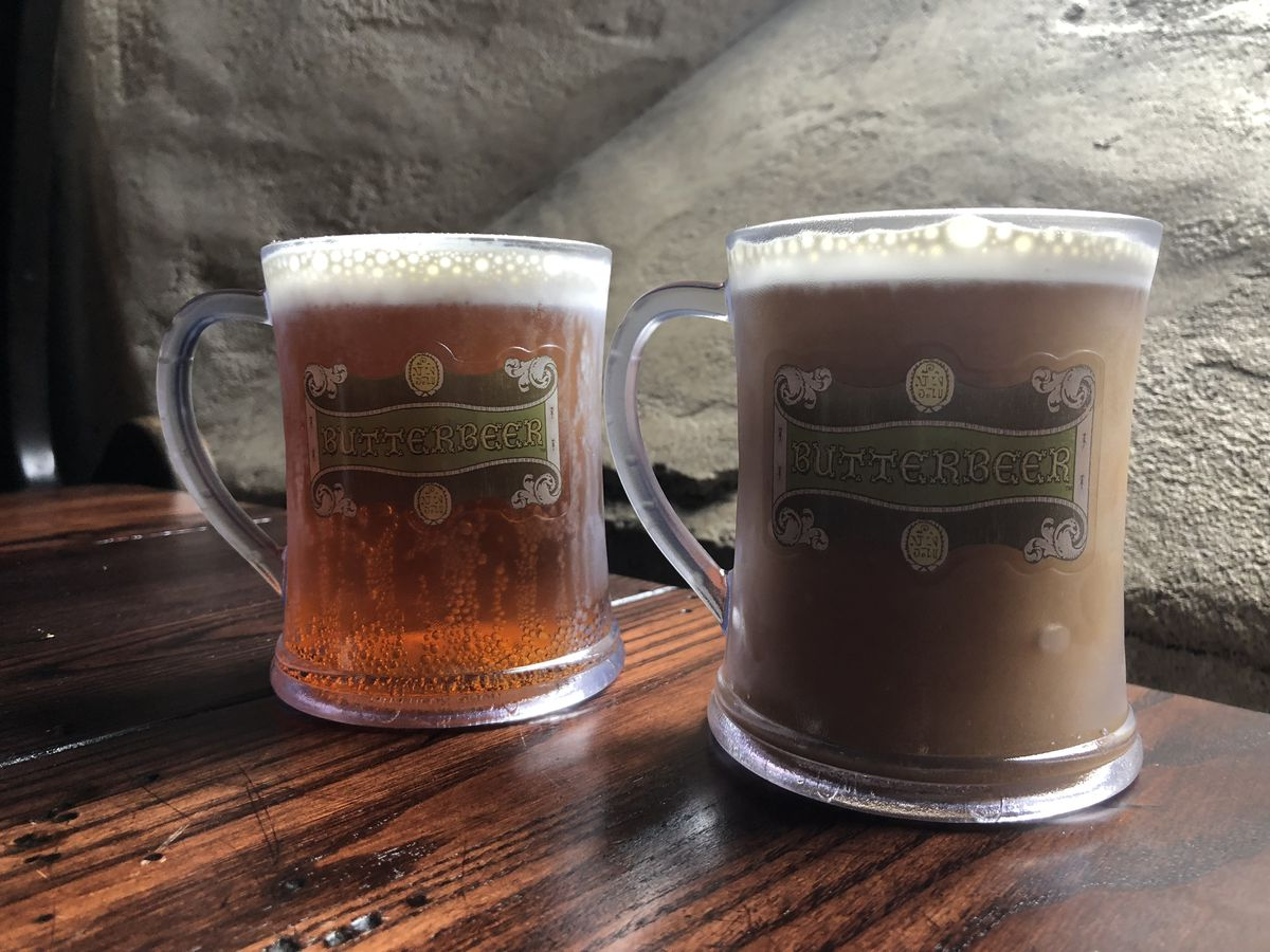 Butterbeer in the Wizarding World of Harry Potter