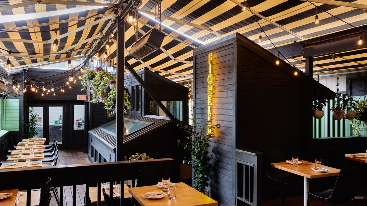 The rooftop at Fiorella's Inner Sunset location