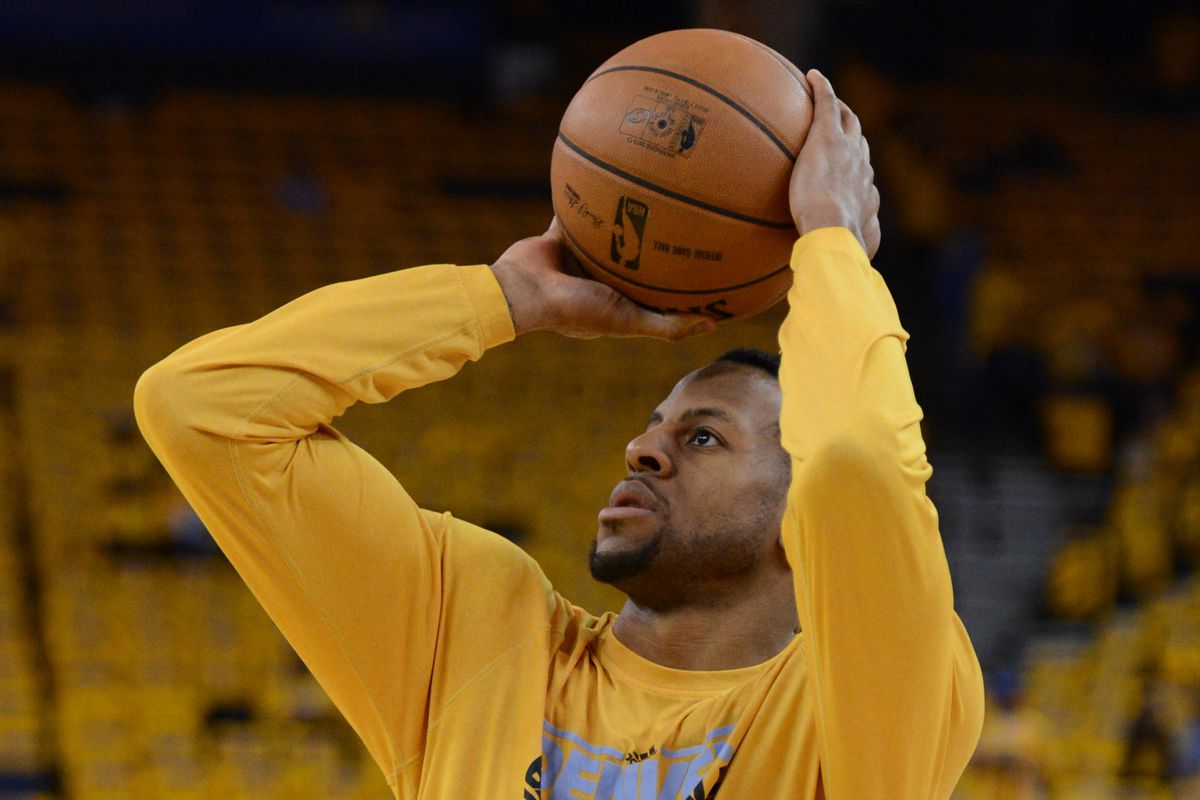 Andre Iguodala will now play for the fans at Roaracle instead of fighting against them.