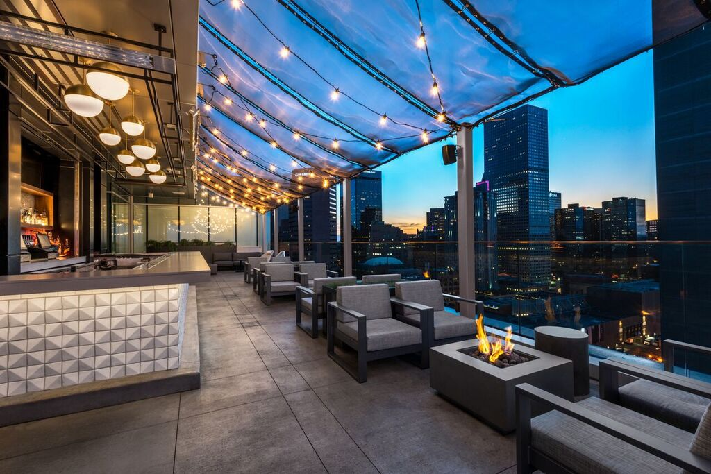 54Thirty's rooftop patio