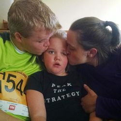 Brian's daughter, Becca, was born with a rare genetic condition called Rett syndrome.