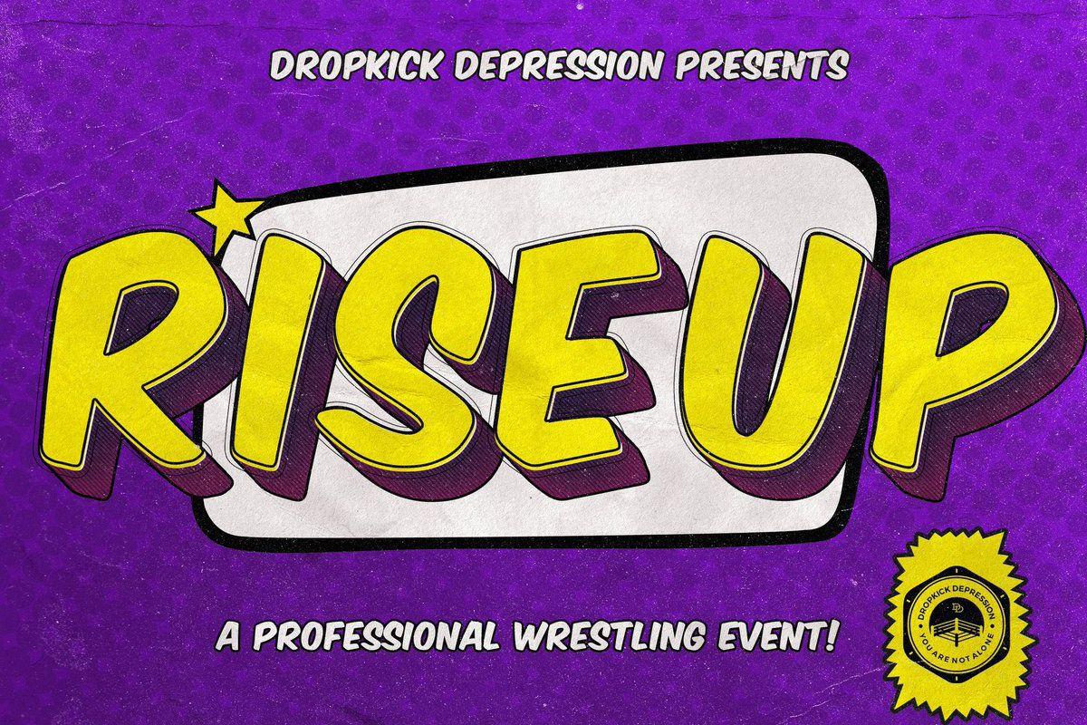 Poster for Dropkick Depression Rise Up