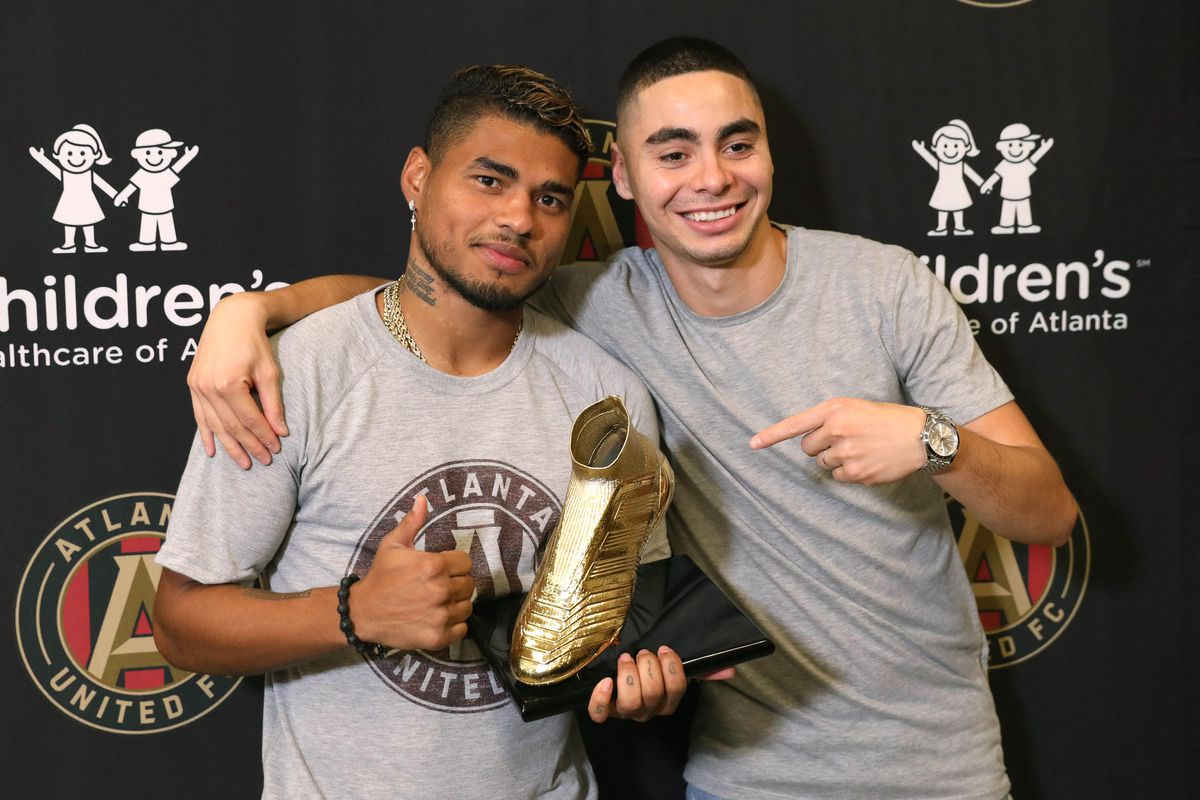 MLS: Josef Martinez-Golden Boot Trophy Presentation