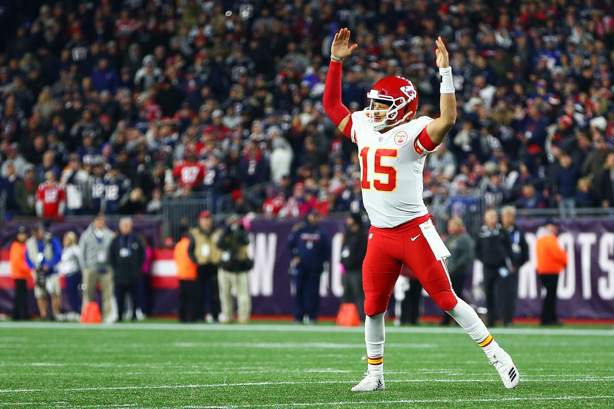 lowest price a2bf6 0775d APC Conference Championship Picks  Top seeds Saints   Chiefs projected to  Super Bowl LIII