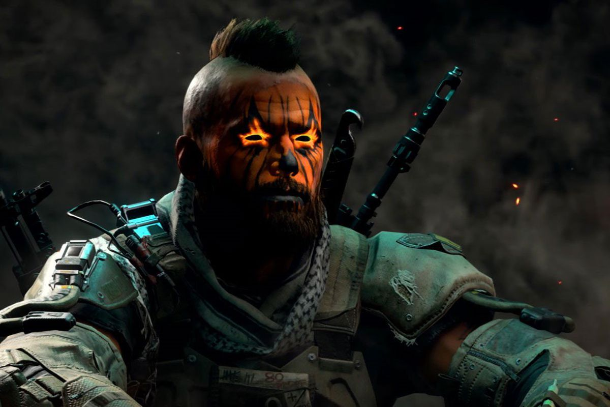 A face paint option available in Black Ops 4's Black Market