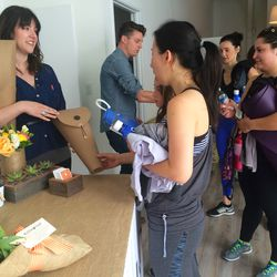 Everyone also took home a gorgeous bouquet of flowers by BloomThat.