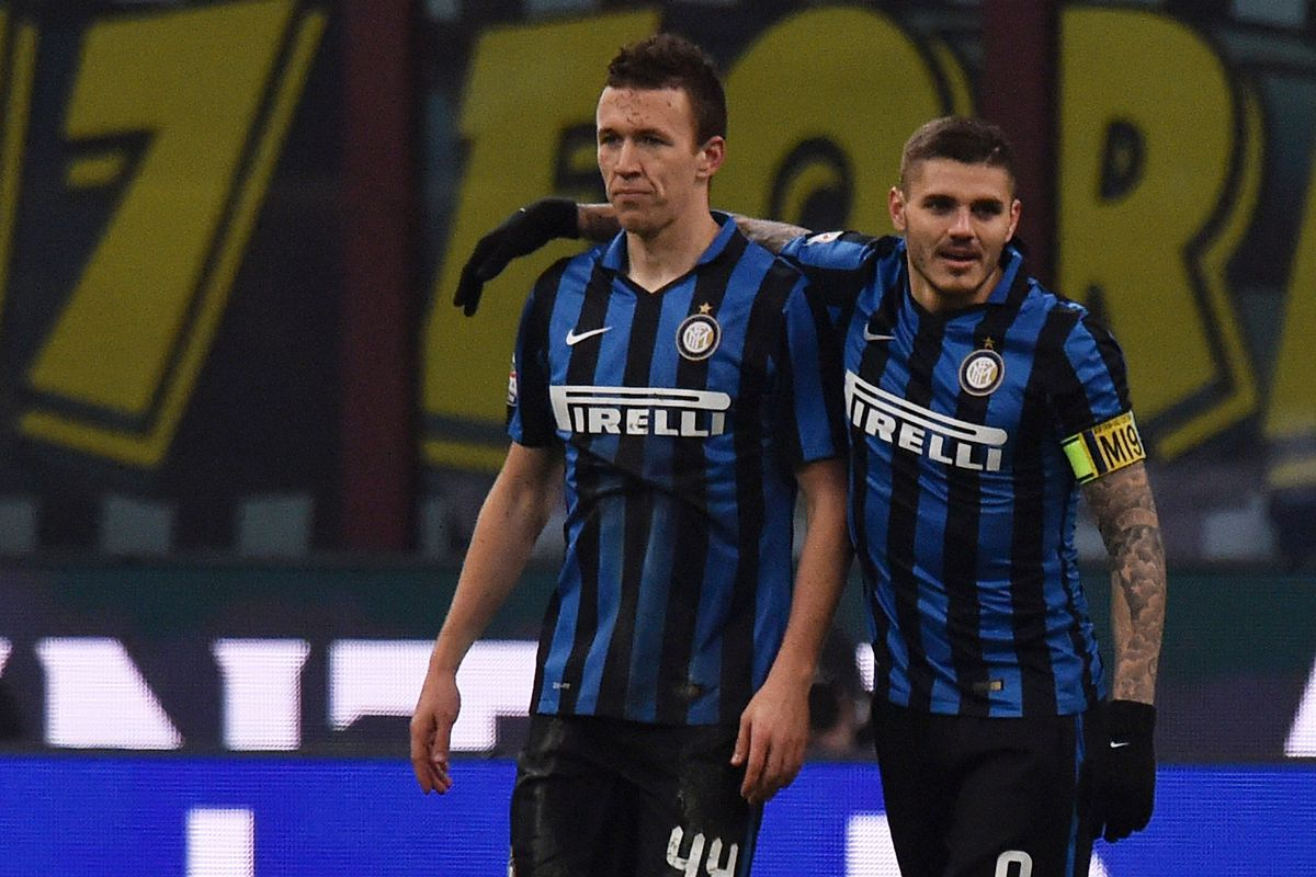Perisic looks like Icardi just stole his woman (I'm sorry I couldn't resist that one...)