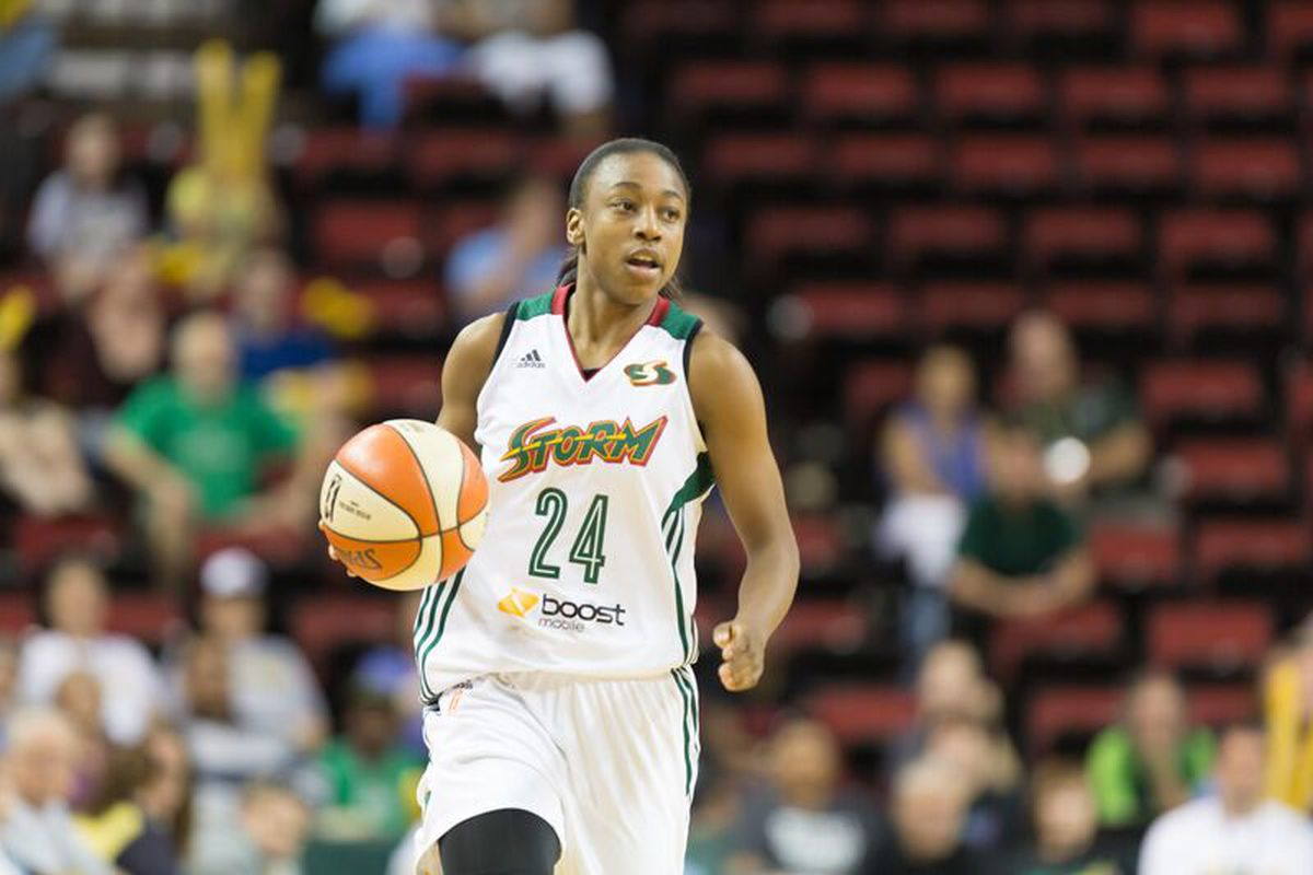 Jewell Loyd wins Rookie of the Year!