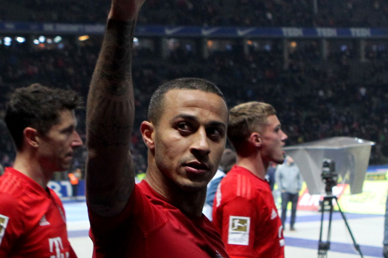 Daily Schmankerl: ManUtd eyeing Thiago Alcantara, Arsenal ?keen on? Jerome Boateng, Thomas Müller teases 1860, and more!