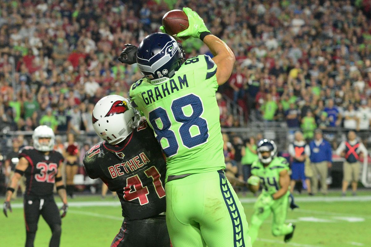Jimmy Graham has 2nd most touchdowns by tight end in Seahawks