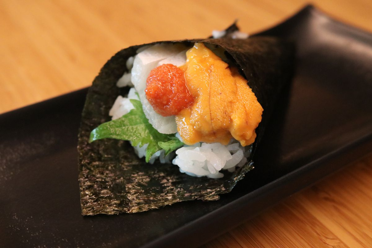 A hand roll from Kome