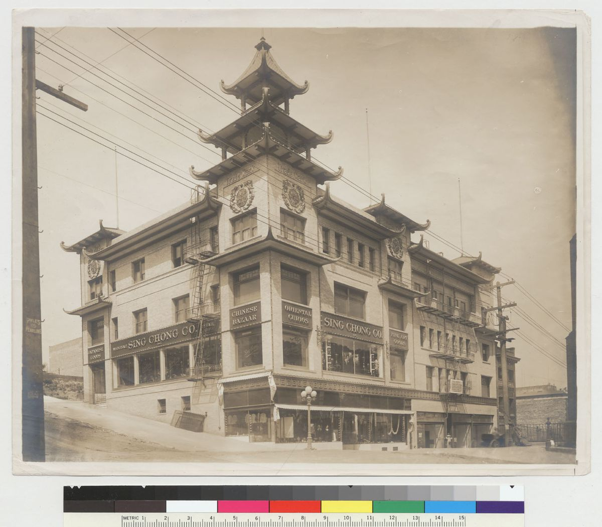 The Sing Chong building, 1910.
