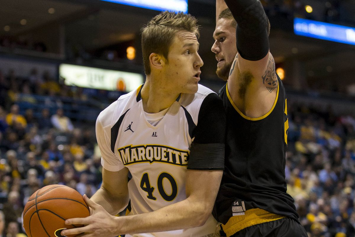 Luke Fischer has recorded his first two career double-doubles in MU's first two games this season.