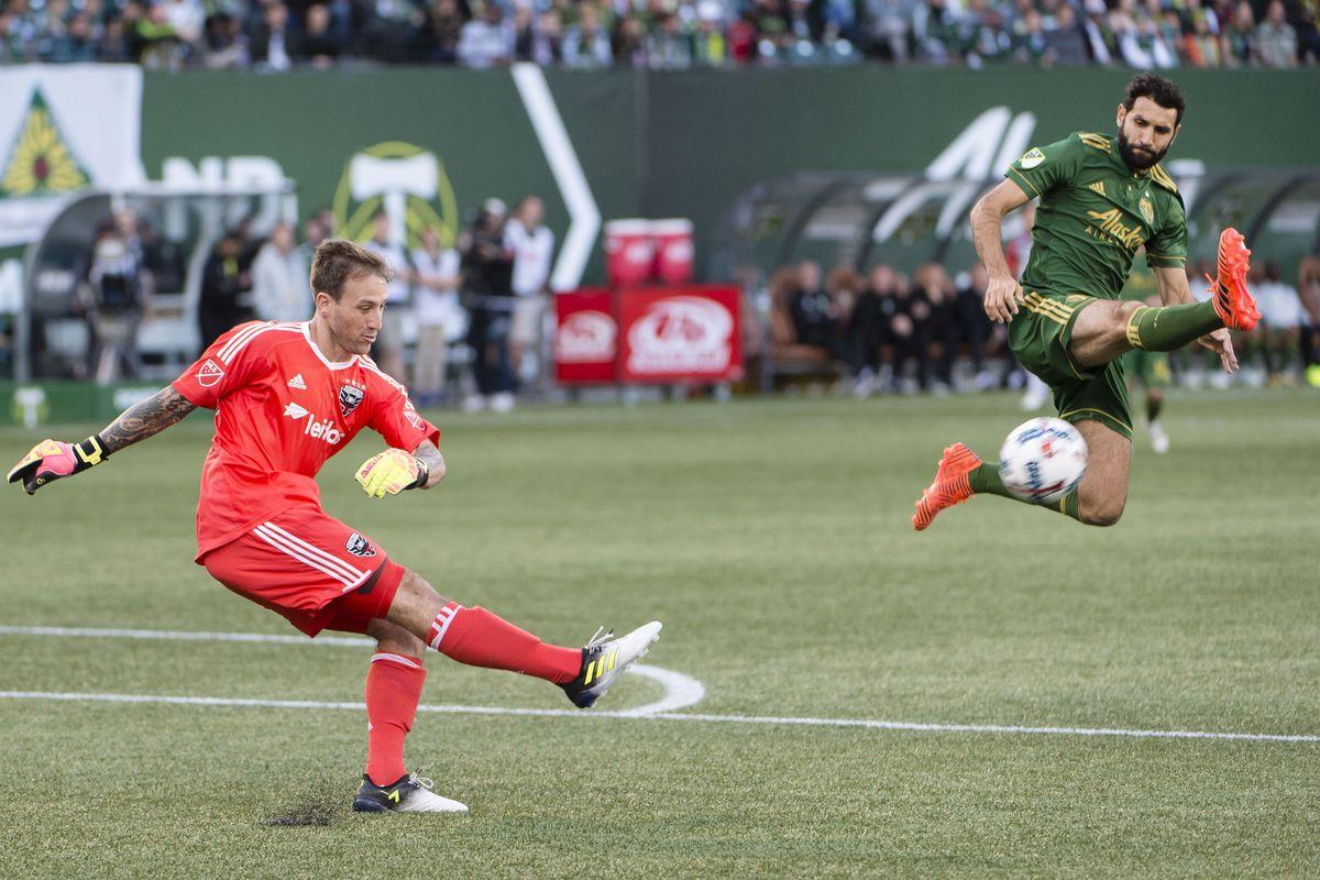 MLS: D.C. United at Portland Timbers